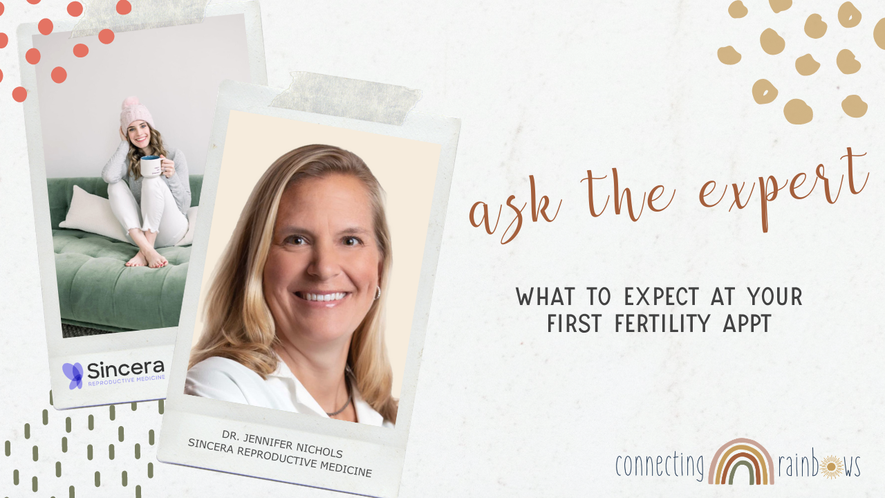 WHAT TO EXPECT AT YOUR FIRST FERTILITY VISIT