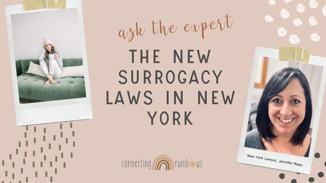 SURROGACY IS LEGAL IN NEW YORK! | The new laws with lawyer Jennifer Maas