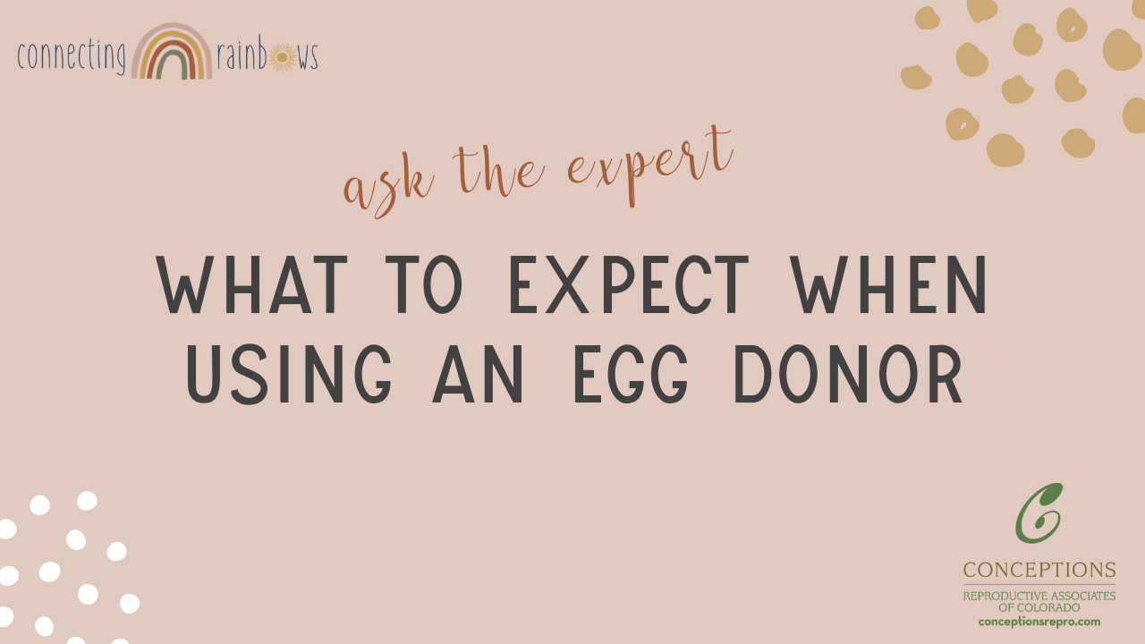 WHAT TO EXPECT WHEN USING AN EGG DONOR | Dr. O'Shaughnessy Conceptions Reproductive