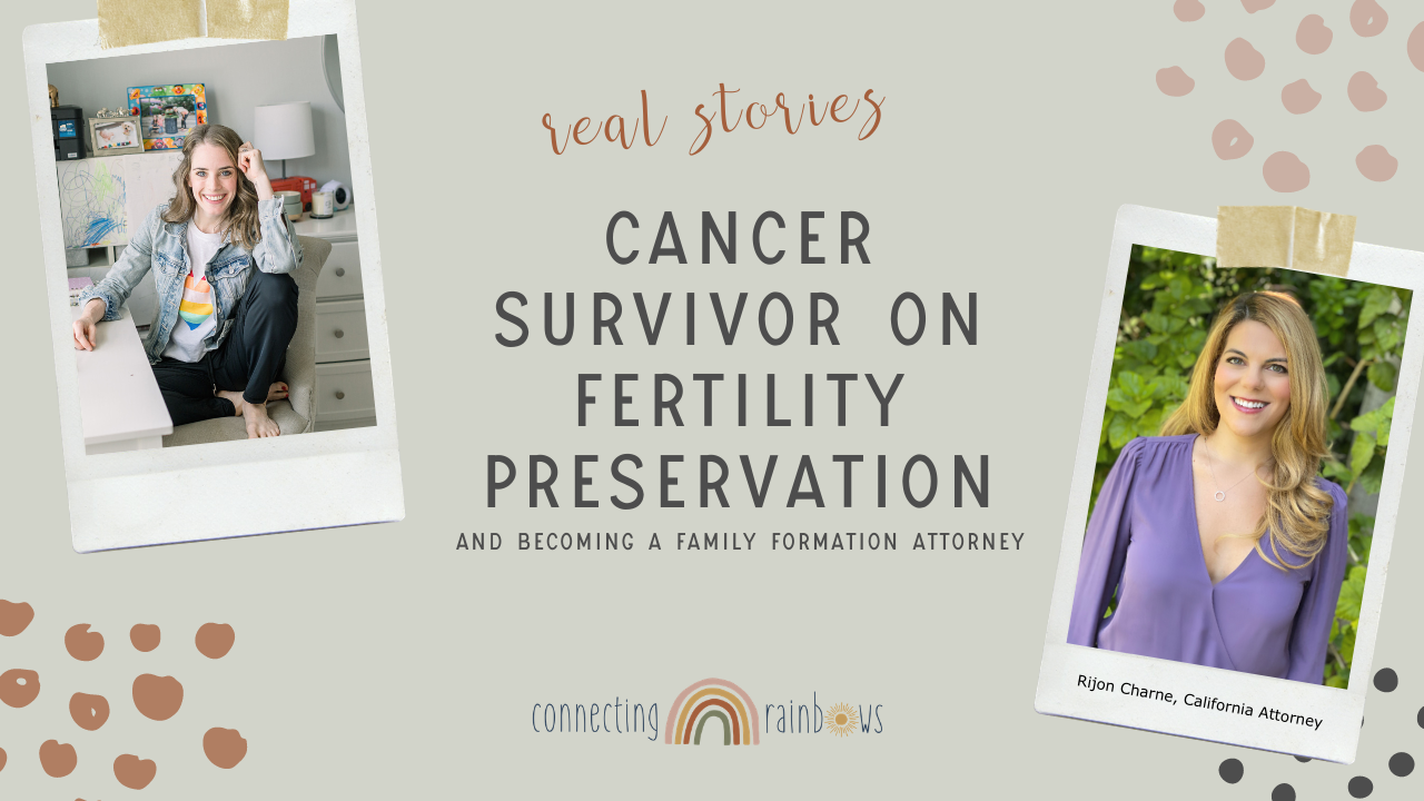 FERTILITY, CANCER & DISCOVERING HER PURPOSE | fertility lawyer talks about her own experience